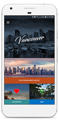 Photographer's Guide to Vancouver saving you time and effort